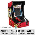 Ion Audio iCade Arcade Cabinet for iPad - FREE Atari Greatest Hits App, Built In Joystick and Buttons, High Quality iPad Cradle