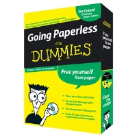I.R.I.S. Going Paperless for Dummies Software - Transfer Paper Documents To Digital Files