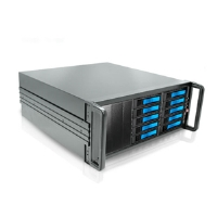 iStarUSA dAGE410U20-PM 4U Chassis - 10-Bay, SATA, eSATA, 500W PSU
