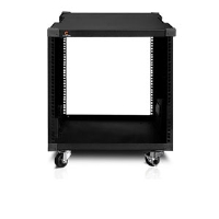 iStarUSA WJ-1045 10U Server Rack Cabinet - 450mm Depth, Steel, Black