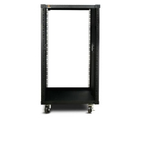 iStarUSA WJ-1845 18U Server Rack Cabinet - 450mm Depth, Steel, Black