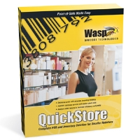 Wasp Barcode QuickStore POS Professional Edition - Complete package - 1 user - CD - (633808471088)