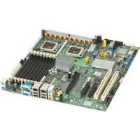 Intel S5000XVNSATAR Motherboard - Intel 5000X, Dual Socket 771, eATX, Video, PCI Express, Dual Gigabit LAN, USB 2.0, Serial ATA, RAID