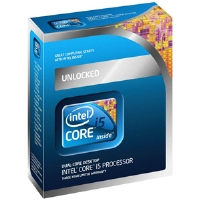 Intel BX80616I5655K Core i5 655K Processor - 3.20GHz, LGA 1156, 4MB L3 Cache, Dual-Core, Built-in Graphics Core, Retail Processor, No Fan, Unlocked Multiplier