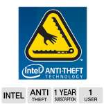 Intel BXIATSC1YRENG Laptop Anti-Theft Service - 1 Year, Lock Down, Secure Data Vault, Custom Recovery Message