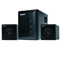 Inland 88140 Pro Sound 2.1 Speaker System - 2005 Watts, 2 Satellite Speakers, Subwoofer