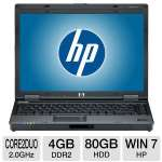 "HP Compaq 6910p 14.1"" Core 2 Duo 80GB Notebook"