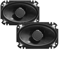 "JBL GTO6428 4"" x 6"" Grand Touring Series Loudspeaker - 2-Way, 120 Watt Total, 91 dB Sensitivity, Pair"