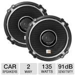 "JBL GTO528 5.25"" Grand Touring Series Loudspeaker - 2-Way, 135 Watt Total, 91 dB Sensitivity, Pair"