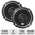 "JBL GTO628 6.5"" Grand Touring Series Loudspeaker - 2-Way, 180 Watt Total, 92 dB Sensitivity, Pair"