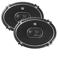 "JBL GTO938 6"" x 9"" Grand Touring Series Loudspeaker - 3-Way, 300 Watt Total, 94 dB Sensitivity, Pair"