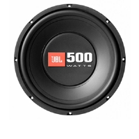 "JBL CS1014 CS Series Subwoofer - 10"", 500 Watt Total, 90dB Sensitivity"