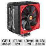 ThermalTake NiC C4 CPU Cooler - 120mm, Intel LGA 2011, 1366, 1155, 1156, 1150, 775, AMD FM2, FM1, AM3+, AM3, AM2+, AM2, 2000 RPM,  - CLP0607