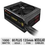 Thermaltake Toughpower 1000W Gold - 80 PLUS Gold PSU, Ultra Quiet Fan, Haswell Ready - PS-TPD-1000MPCGUS-1