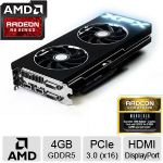 XFX Radeon R9 290X Double Dissipation Video Card - 4GB GDDR5, PCI-Express 3.0 (x16), AMD CrossFire - R9-290X-EDFD - 3 FREE Games up to $150 value after purchase, limited offer