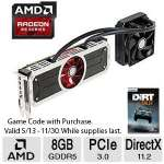 XFX Radeon R9 295X2 8GB with Liquid Cooling - 8GB GDDR5, PCIe 3.0, DirectX 11.2 - R9295X8QFA