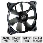 Cooler Master JetFlo Case Fan - 120mm, 800-2000 RPM, POM Bearing - R4-JFNP-20PK-R1