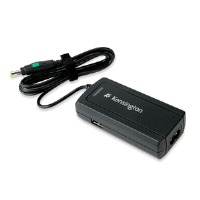 Kensington K38047US Netbook Power Adapter - For Acer, Asus, Dell, HP, LG, Lenovo, MSI and Samsung Netbooks