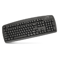 Kensington 64338 Comfort Type USB Keyboard-104 Key Layout, Black-K64338US