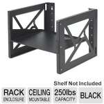 Kendall Howard 1915-3-001-08 Wallmount Rack - 8U