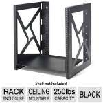 Kendall Howard 1915-3-001-12 Wallmount Rack - 12U