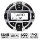 Kenwood Rounded Marine Remote Control - LCD, IPX7 Protection, Wired (KCA-RC55MR)