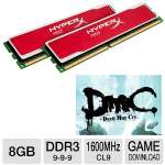 Kingston HyperX Red 8GB Memory Module Bundle