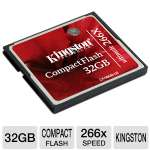 Kingston CF/32GB-U2 Ultimate Compact Flash Card - 32GB, 266x