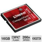 Kingston CF/16GB-U2 Ultimate Compact Flash Card - 16GB, 266x
