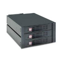 "Kingwin KF-3001-BK Internal Hot Swap Rack - 3 Bay, 3.5"", SATA, RAID, 80mm Fan"