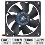 Kingwin 80mm Long Life Bearing Case Fan