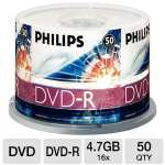 PHILIPS DM4S6H50F/17 50PK 16X DVD-R