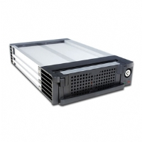 Kingwin SATA Black Alum Mobile Rack w/ Triple Fans