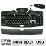 Logitech G19 Gaming Keyboard, Tiltable Color Display, Customizable Backlighting Colors, 12 Programmable Keys, On-The-Fly Macro Recording, USB Corded