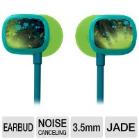 Ultimate Ears 100 985-000223 Ear-buds - Noise Cancelling (24dB), 16 ohms, Jade Guitar