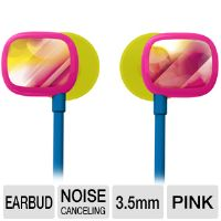 Ultimate Ears 100 985-000249 Ear-buds - Noise Cancelling (24dB), 16 ohms, Pink Gaze