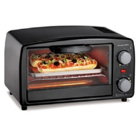 Proctor Silex 31118 Extra Large Toaster Oven Broiler - Fits 4 Slices or 2 Pizzas, Black