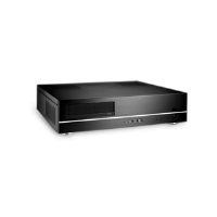 Lian-Li PC-C37B  Aluminum HTPC Case - Black