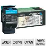 Lexmark C540H1CG Return Program Cyan Toner Cartridge - up to 2,000 pages