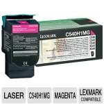 Lexmark C540H1MG Return Program Magenta Toner Cartridge - 2000 YD