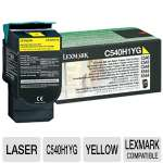 Lexmark C540H1YG Return Program Yellow Toner Cartridge - 2000 YD