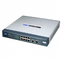 The connection-redundant Cisco RV082 8-port 10/100 VPN Router - Dual WAN gives you the connection reliability your business needs.