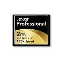 Lexar CF2GB-133-381 Professional UDMA CompactFlash Card - 2GB