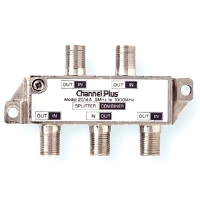 Linear Channel Plus 2514 DC & IR Passing 4-way Splitter/Combiner