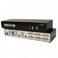 Linkskey LDV-DM702AUSK KVM Switch - 2-Port, Dual DVI Support, USB, Sound