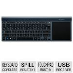 Logitech Wireless All-in-One TK820 keyboard- 2.4 GHz, USB Unifying receiver, PerfectStroke� Key System - 920-005108