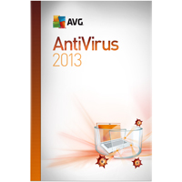 AVG ANTIVIRUS 2013, 1-USER 1-YEAR