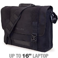 MobileEdge MECME1 Eco-Friendly Canvas Messenger - Fits Notebook PCs up to 16""