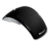 Microsoft ZJA-00001 Arc Mouse - Windows/Mac Compatible, USB, Black