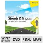 Microsoft ZV3-00026 Streets & Trips 2013 Software w/ GPS Locator